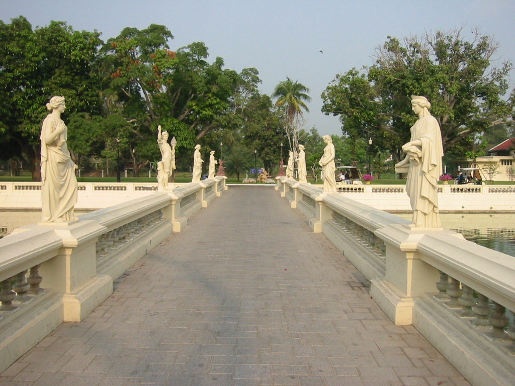 Summer Palace - The royal palace - at Bang Pa In