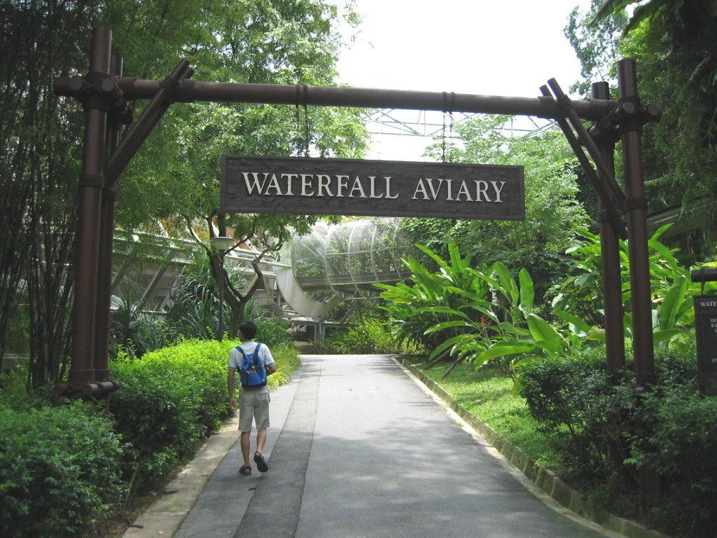 Jurong Waterfall Aviary