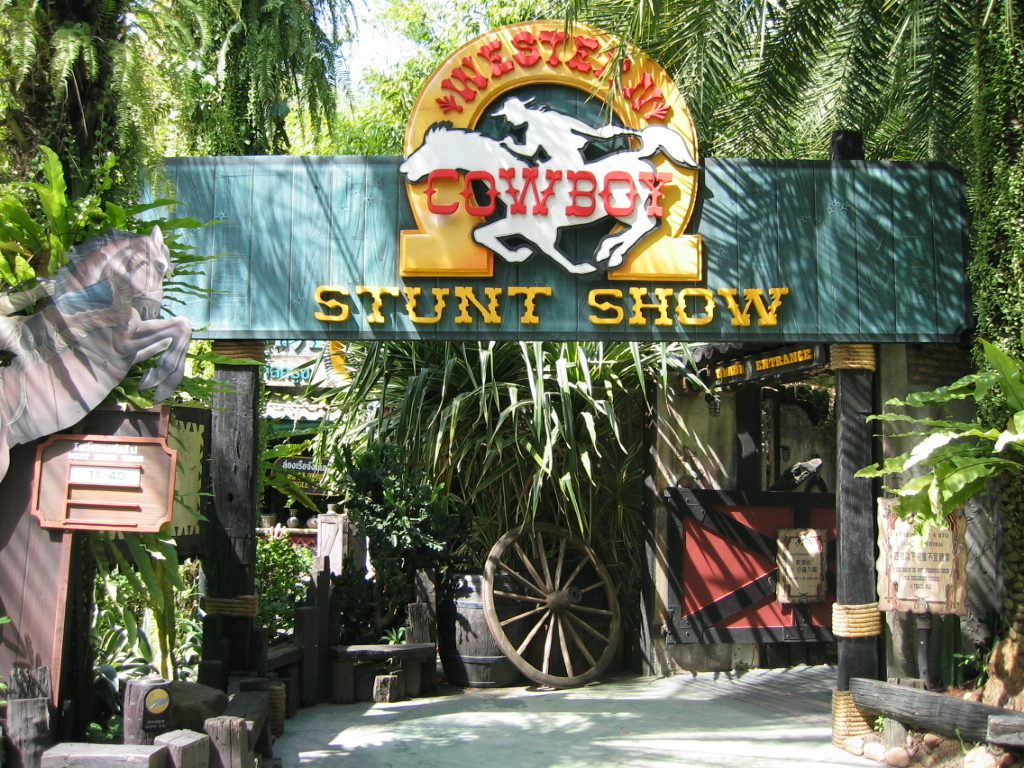 Stunt Show at Safari World Bangkok