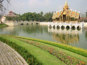 Royal Summer Palace Bang Pa In Bangkok