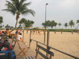 Unwind One Late Afternoon With a Beautiful Sunset at Siliso Beach on Sentosa Island Singapore