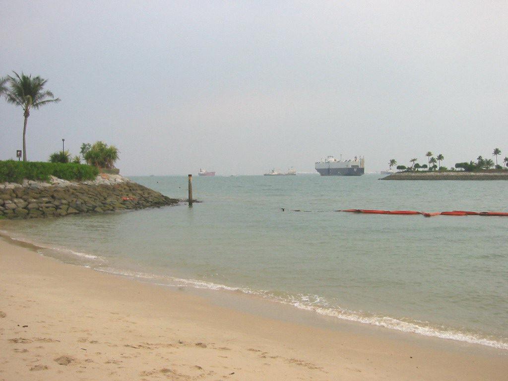 Siliso Beach on Sentosa Island Singapore