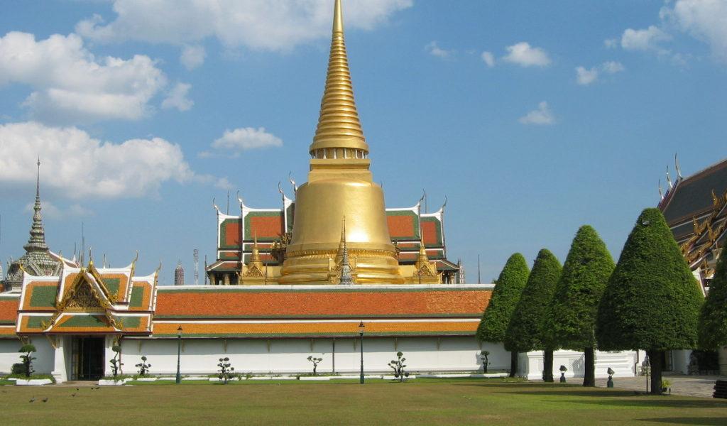 The World Reknowned Royal Grand Palace and Wat Phra Kaew Bangkok