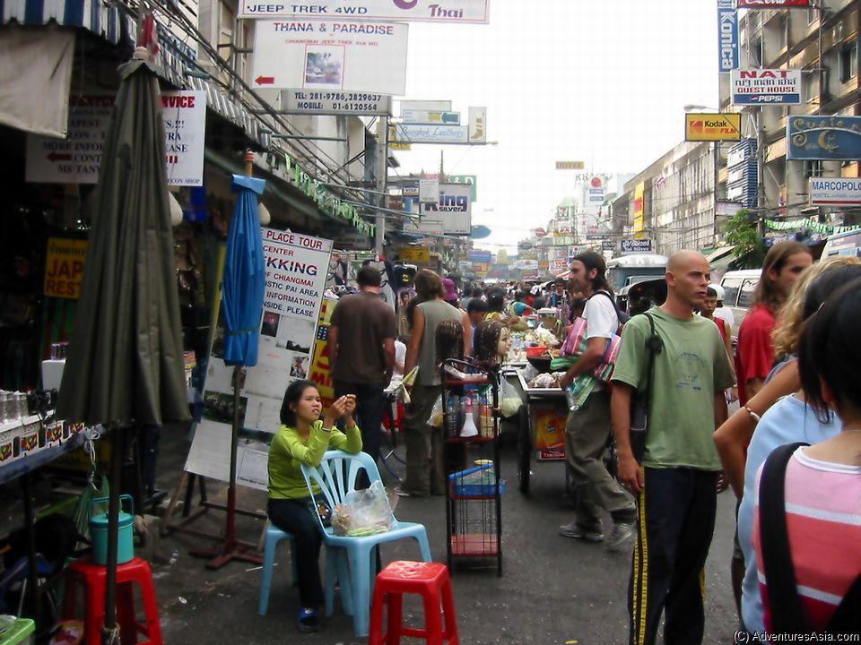 Khoa San Road Thailand Travel Tips and Advice