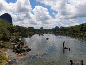 Klong Root Mirrored Lake